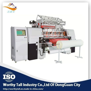 Italy High Speed Multi Needle Quilting Machine for Bedding