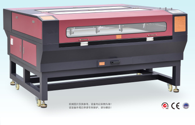 Textile laser cutting machine
