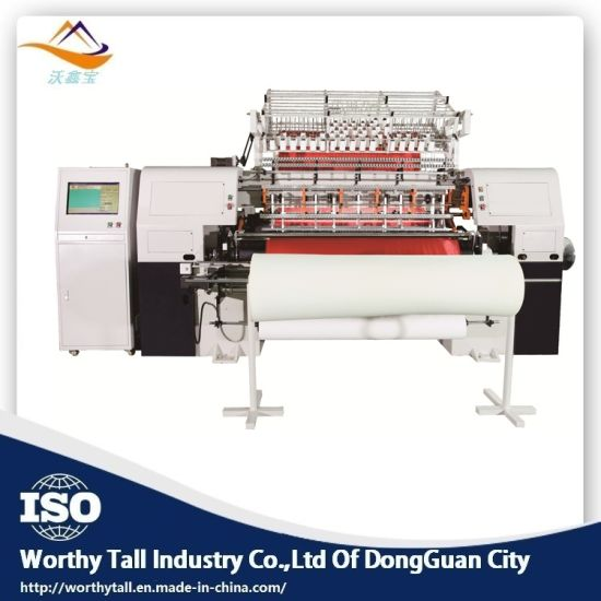 Sequin Embroidery Quilting Machine with Multi Needle