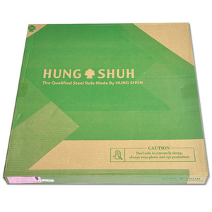 Low Price Tai Wan Hung Shuh Quality Steel Rule