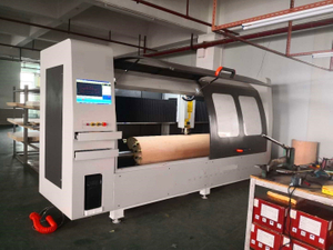 cnc rotary curved plywood cutting machine