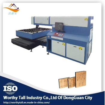 Industrial high power laser die cutter CO2 laser working principle
